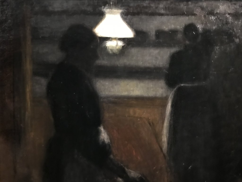 Vue de l'exposition Hammershoi, Musée Jacquemart-André, Paris (15)
