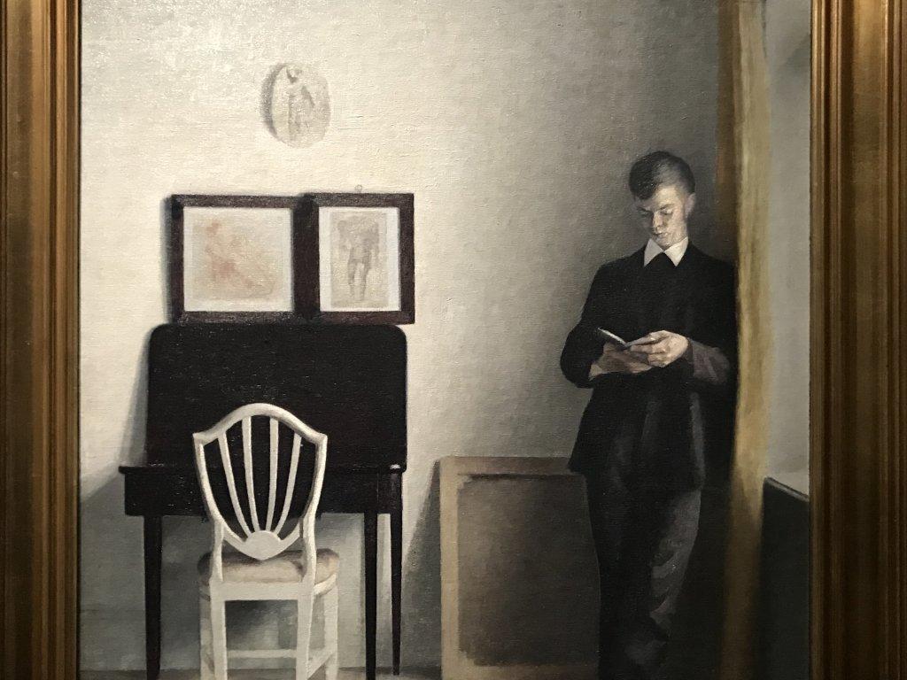 Vue de l'exposition Hammershoi, Musée Jacquemart-André, Paris (20)