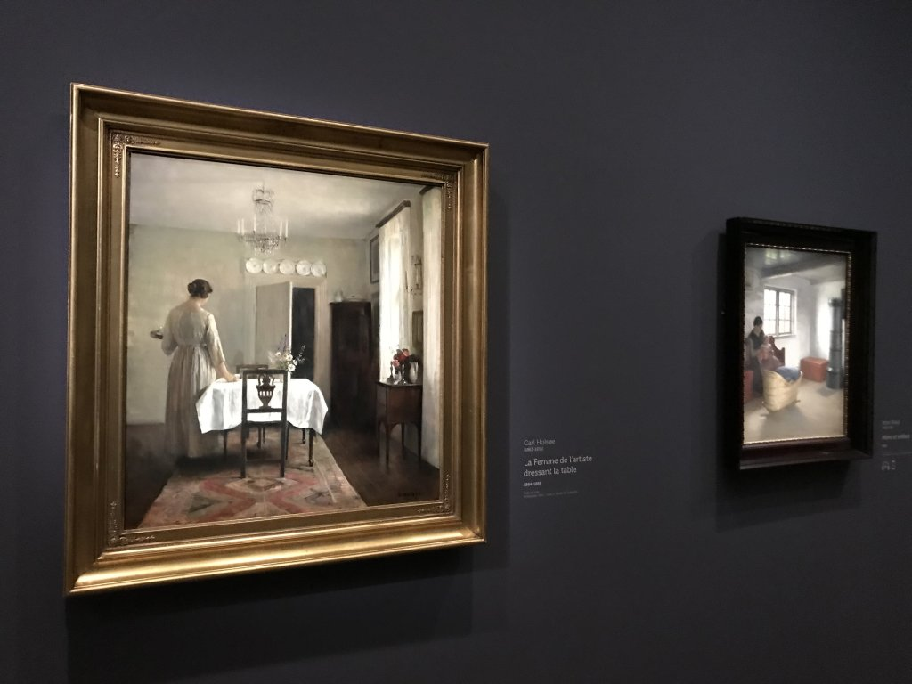 Vue de l'exposition Hammershoi, Musée Jacquemart-André, Paris (23)
