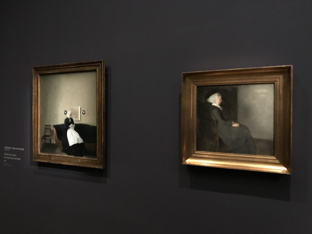 Vue de l'exposition Hammershoi, Musée Jacquemart-André, Paris (24)