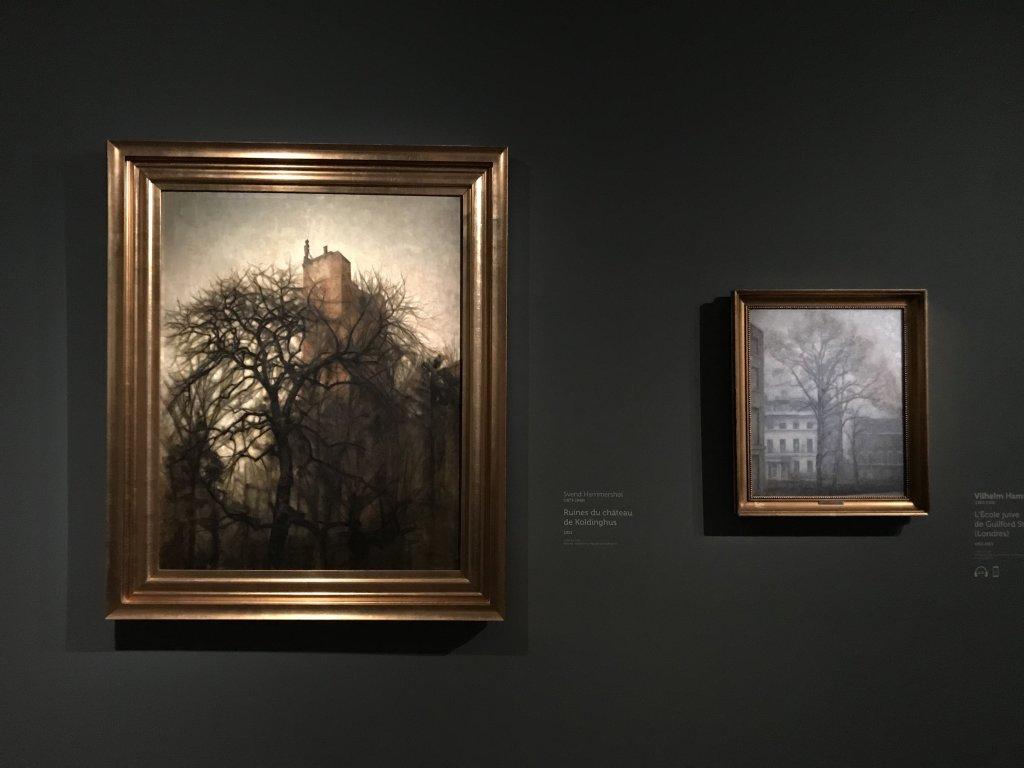 Vue de l'exposition Hammershoi, Musée Jacquemart-André, Paris (27)