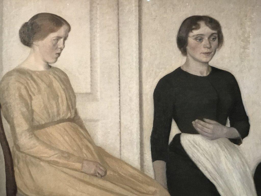 Vue de l'exposition Hammershoi, Musée Jacquemart-André, Paris (3)