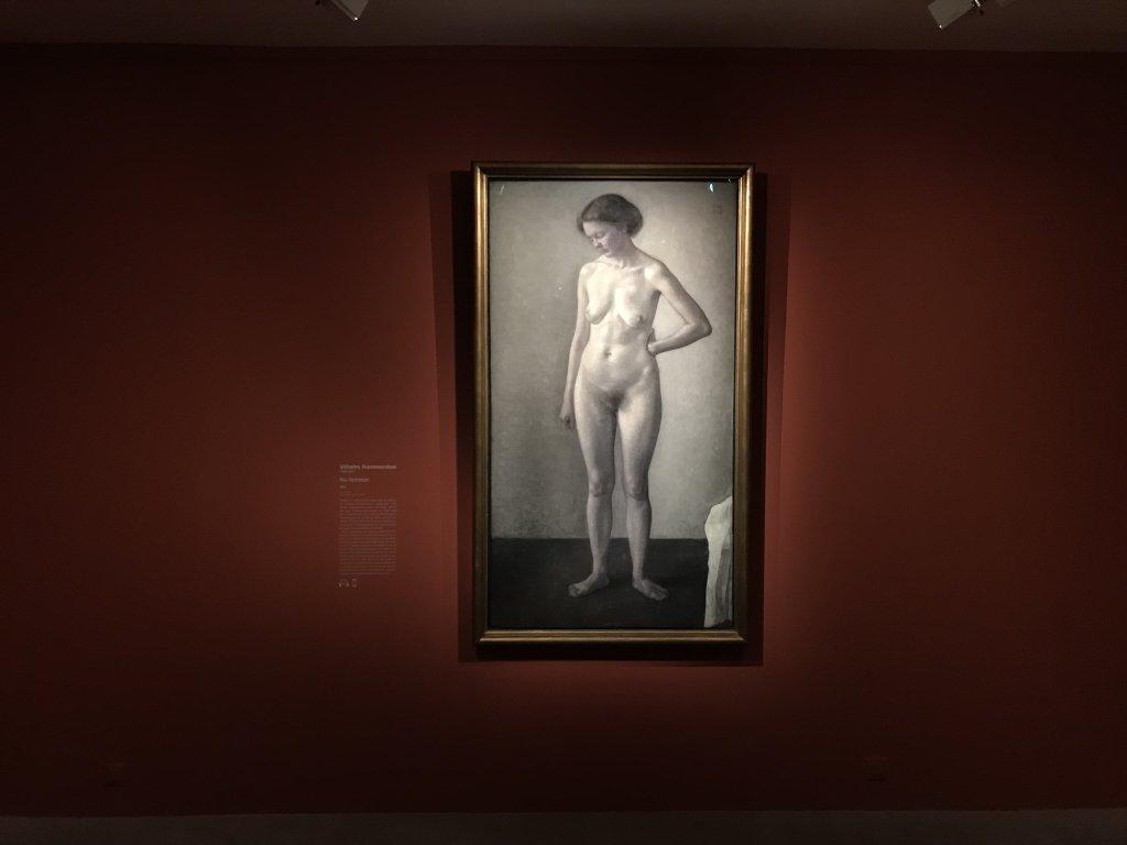 Vue de l'exposition Hammershoi, Musée Jacquemart-André, Paris (30)