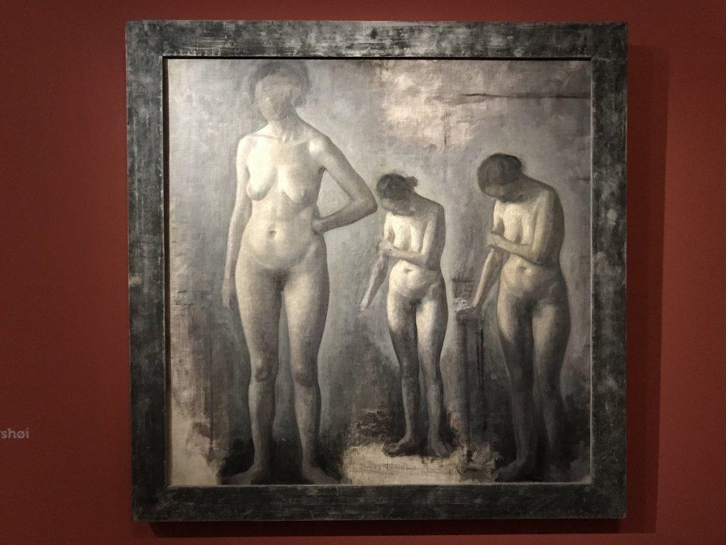 Vue de l'exposition Hammershoi, Musée Jacquemart-André, Paris (31)