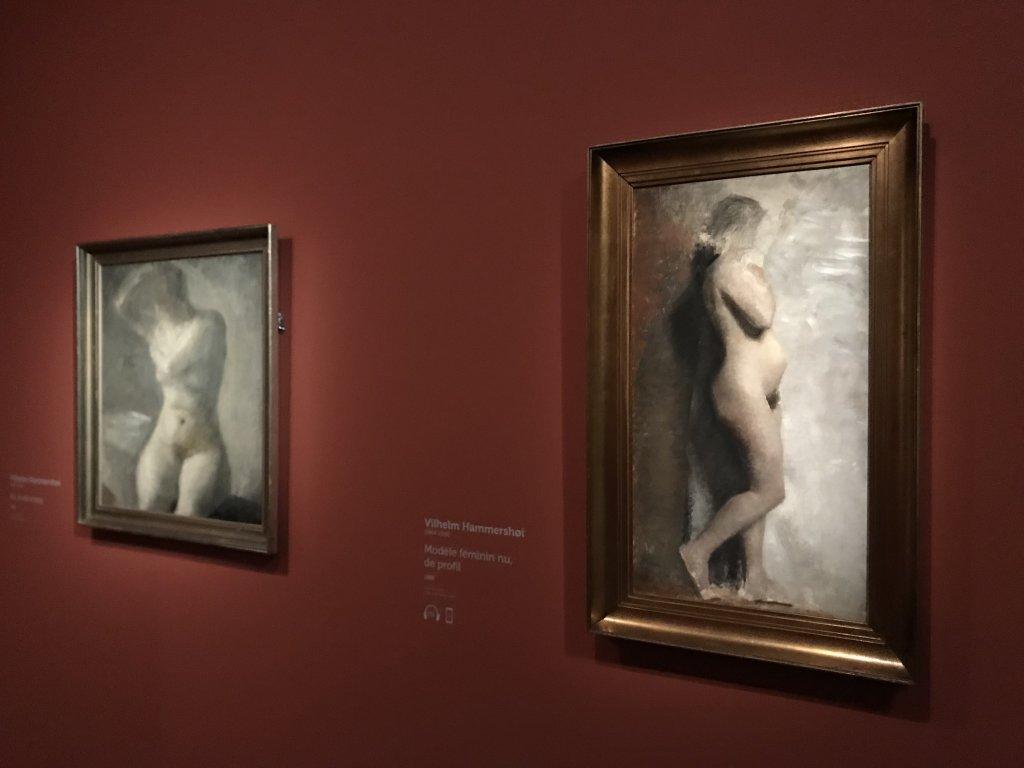 Vue de l'exposition Hammershoi, Musée Jacquemart-André, Paris (32)