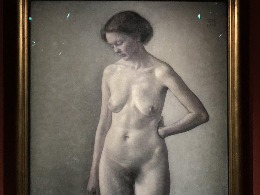Vue de l'exposition Hammershoi, Musée Jacquemart-André, Paris (33)