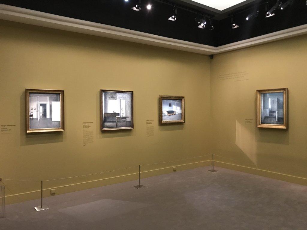 Vue de l'exposition Hammershoi, Musée Jacquemart-André, Paris (34)