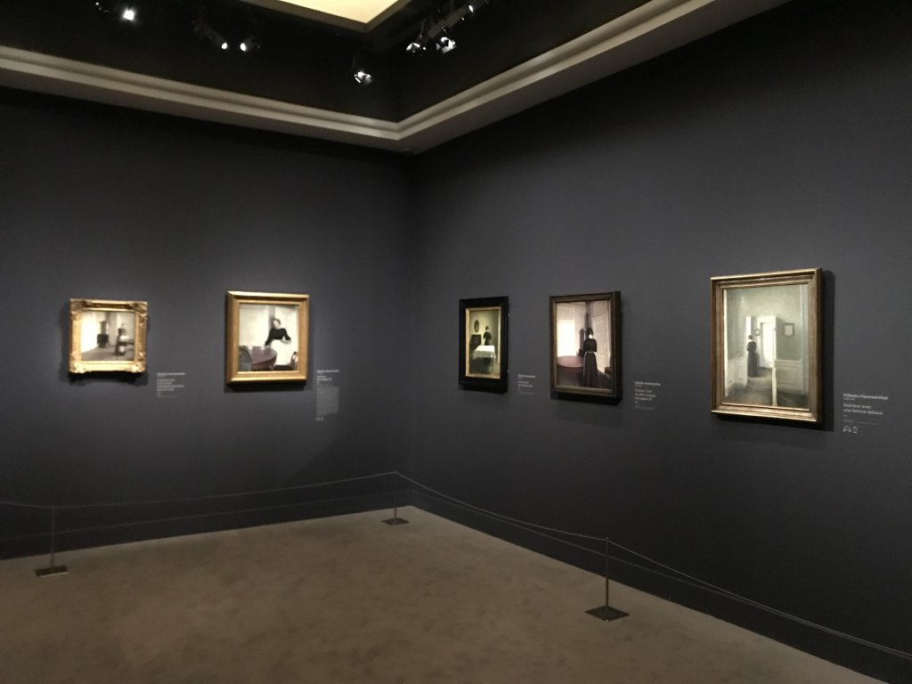 Vue de l'exposition Hammershoi, Musée Jacquemart-André, Paris (35)