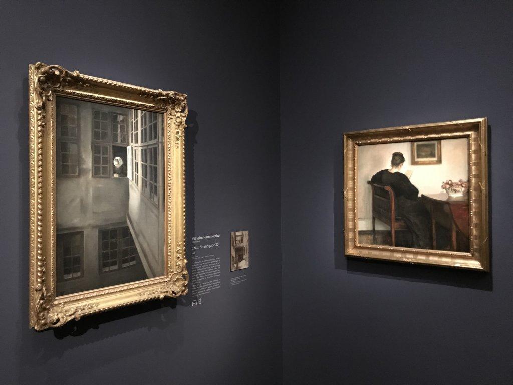 Vue de l'exposition Hammershoi, Musée Jacquemart-André, Paris (36)