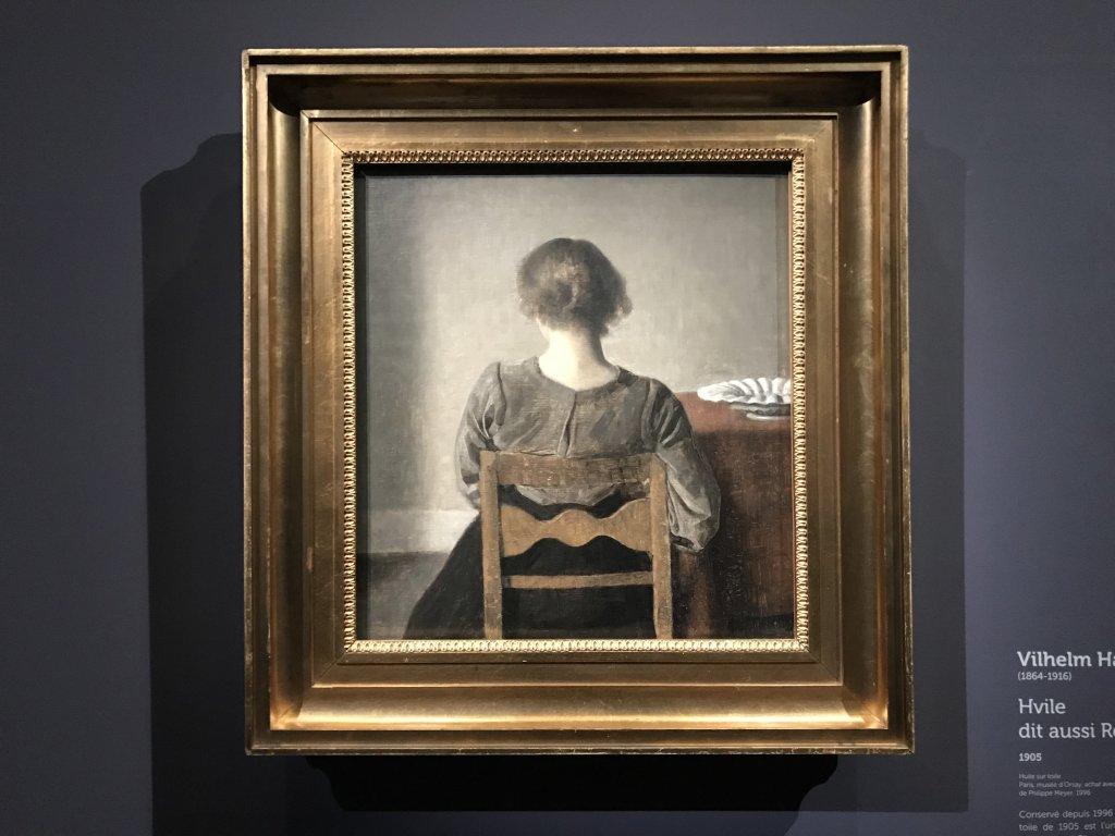 Vue de l'exposition Hammershoi, Musée Jacquemart-André, Paris (37)