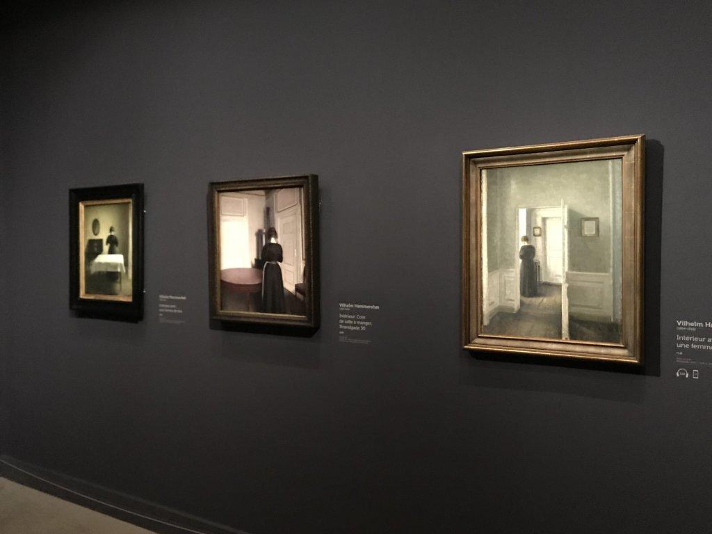 Vue de l'exposition Hammershoi, Musée Jacquemart-André, Paris (41)
