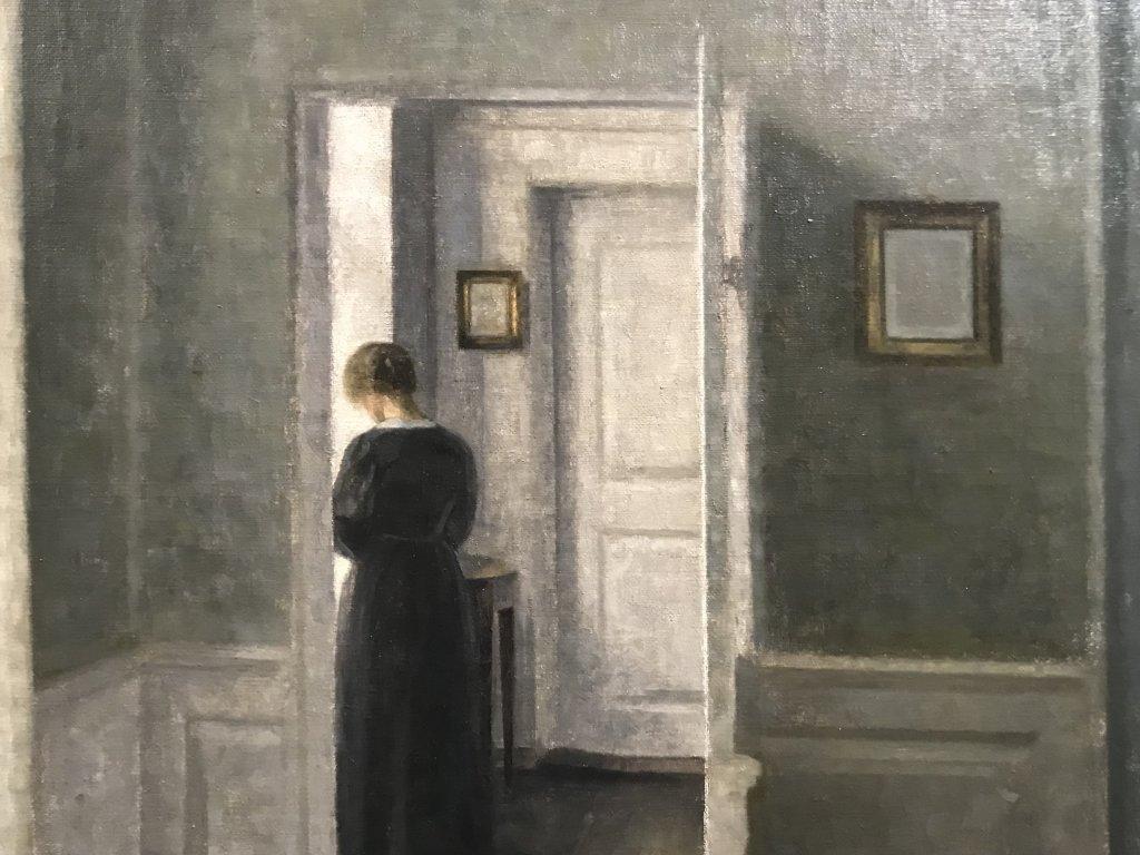 Vue de l'exposition Hammershoi, Musée Jacquemart-André, Paris (42)