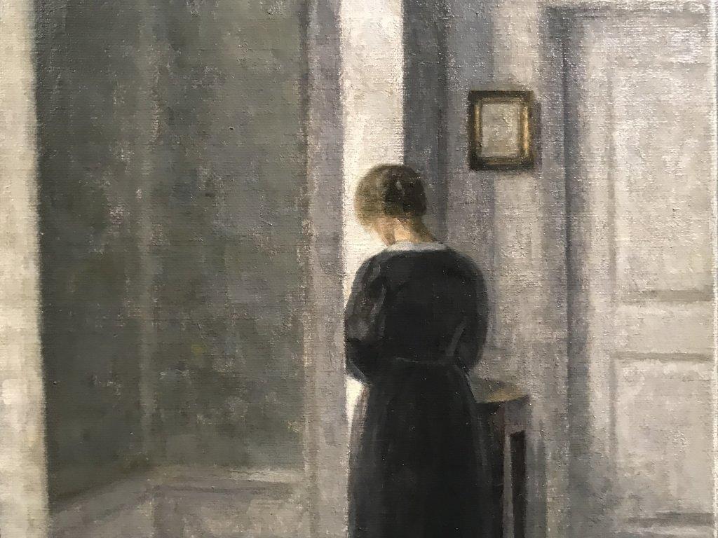 Vue de l'exposition Hammershoi, Musée Jacquemart-André, Paris (43)