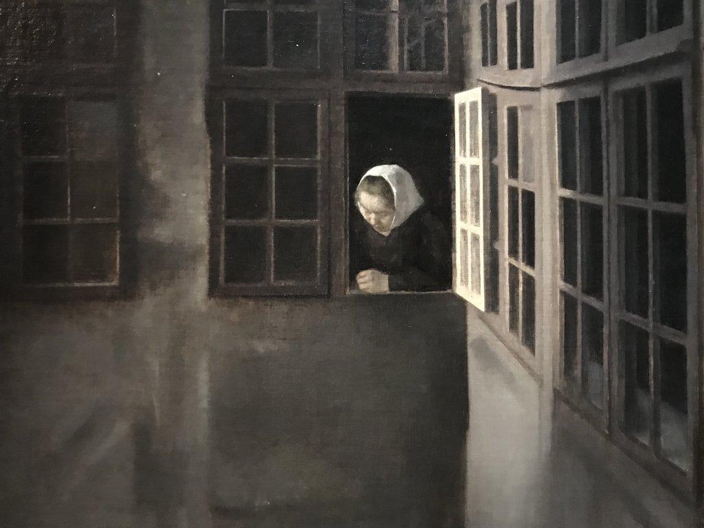 Vue de l'exposition Hammershoi, Musée Jacquemart-André, Paris (44)