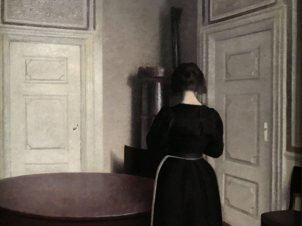Vue de l'exposition Hammershoi, Musée Jacquemart-André, Paris (46)