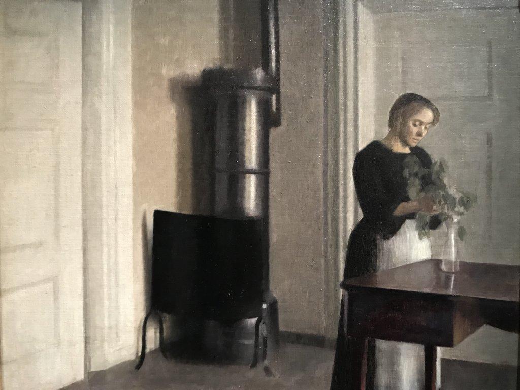 Vue de l'exposition Hammershoi, Musée Jacquemart-André, Paris (47)