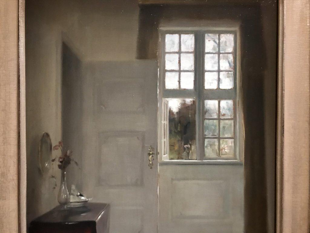 Vue de l'exposition Hammershoi, Musée Jacquemart-André, Paris (50)