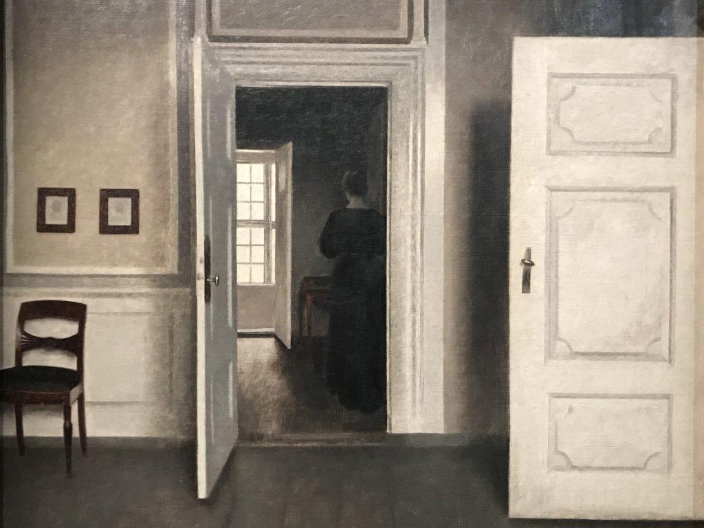 Vue de l'exposition Hammershoi, Musée Jacquemart-André, Paris (52)