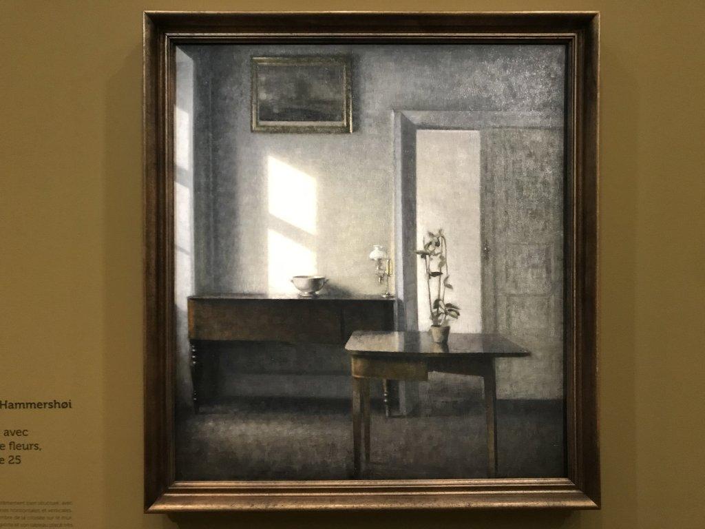 Vue de l'exposition Hammershoi, Musée Jacquemart-André, Paris (53)