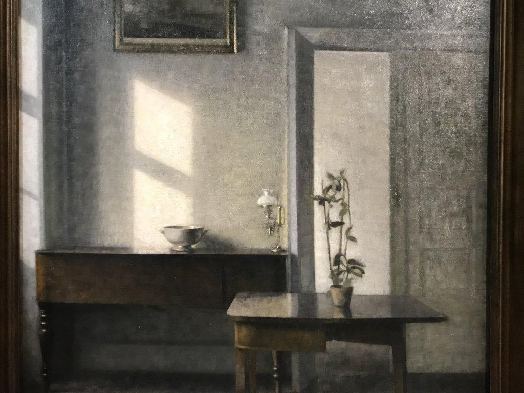 Vue de l'exposition Hammershoi, Musée Jacquemart-André, Paris (54)