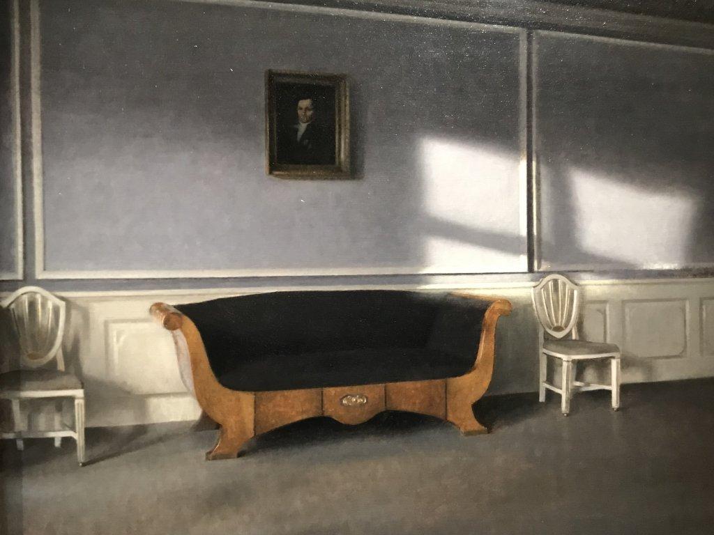 Vue de l'exposition Hammershoi, Musée Jacquemart-André, Paris (56)
