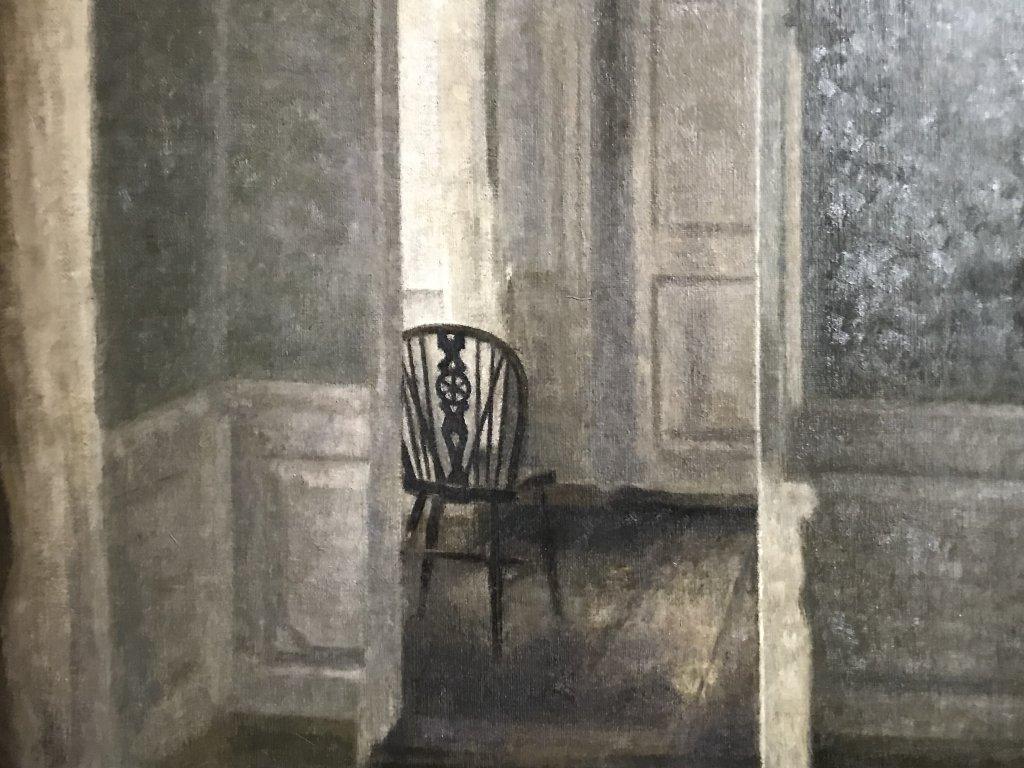 Vue de l'exposition Hammershoi, Musée Jacquemart-André, Paris (57)