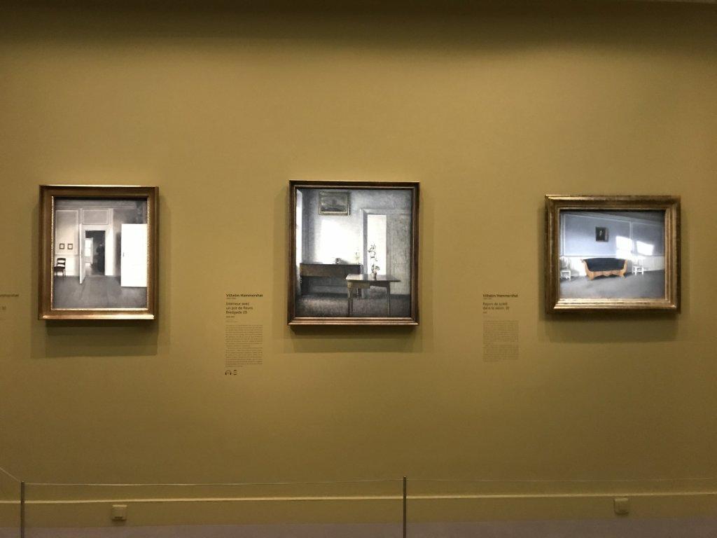 Vue de l'exposition Hammershoi, Musée Jacquemart-André, Paris (59)