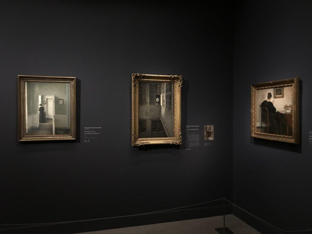 Vue de l'exposition Hammershoi, Musée Jacquemart-André, Paris (61)