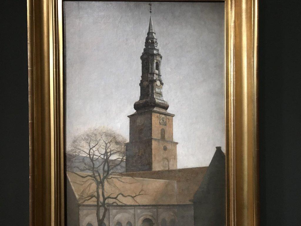 Vue de l'exposition Hammershoi, Musée Jacquemart-André, Paris (63)