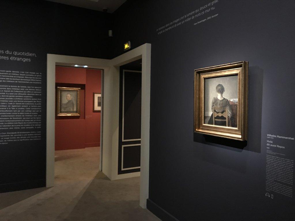 Vue de l'exposition Hammershoi, Musée Jacquemart-André, Paris (71)