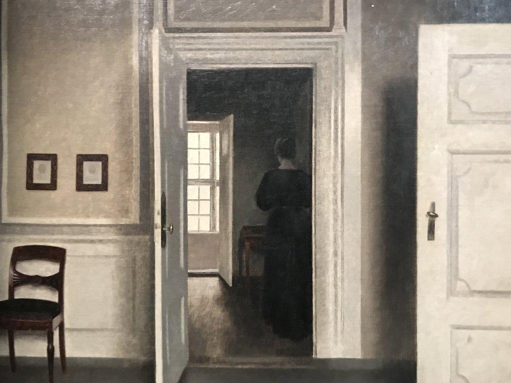 Vue de l'exposition Hammershoi, Musée Jacquemart-André, Paris (73)