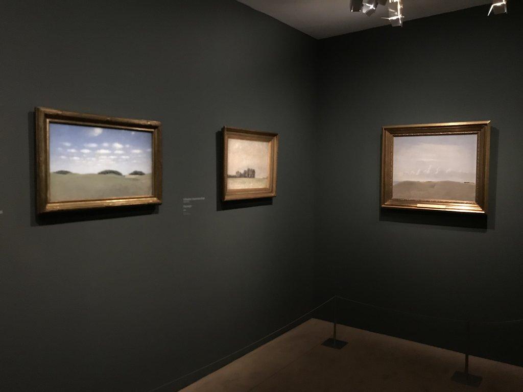 Vue de l'exposition Hammershoi, Musée Jacquemart-André, Paris (8)