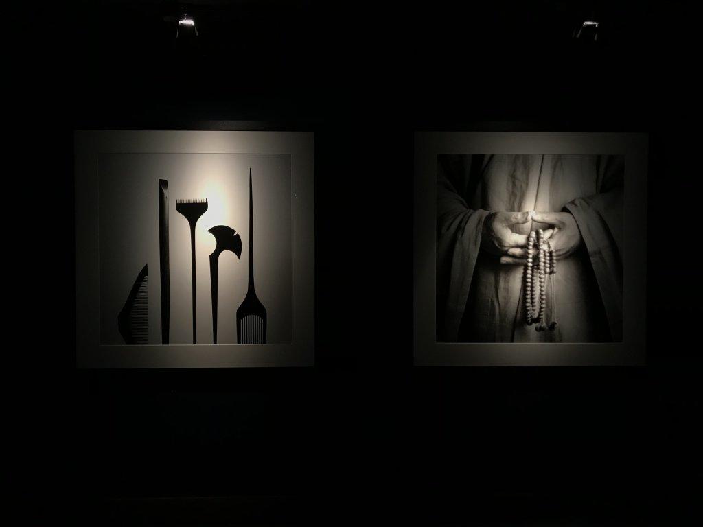 Vue de l'exposition Infinis d'Asie au Musée Guimet à Paris (1)