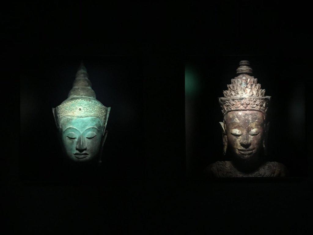 Vue de l'exposition Infinis d'Asie au Musée Guimet à Paris (16)