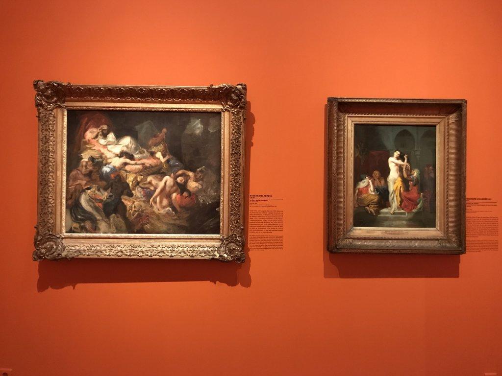 Vue de l'exposition l'Orient des peintres - Musée Marmottan - Paris (14)