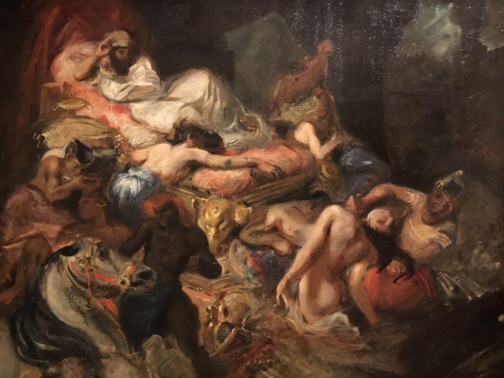 Vue de l'exposition l'Orient des peintres - Musée Marmottan - Paris (15)
