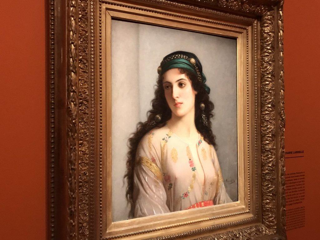 Vue de l'exposition l'Orient des peintres - Musée Marmottan - Paris (17)