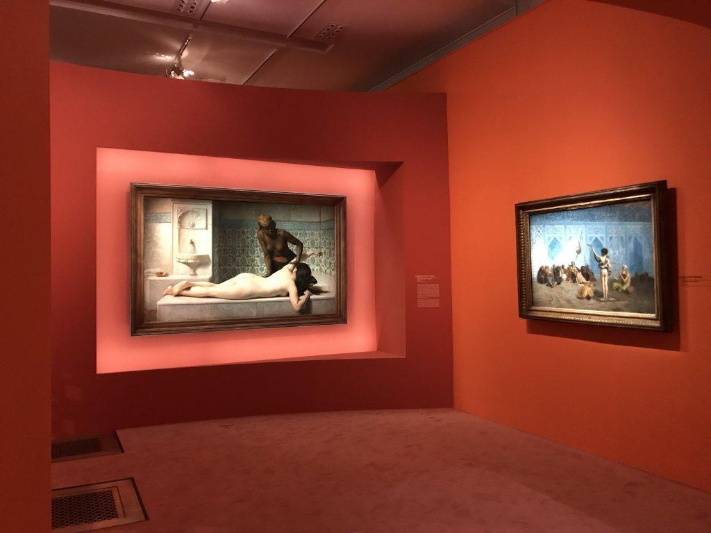Vue de l'exposition l'Orient des peintres - Musée Marmottan - Paris (19)