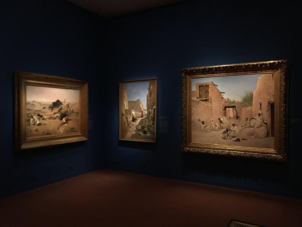 Vue de l'exposition l'Orient des peintres - Musée Marmottan - Paris (20)