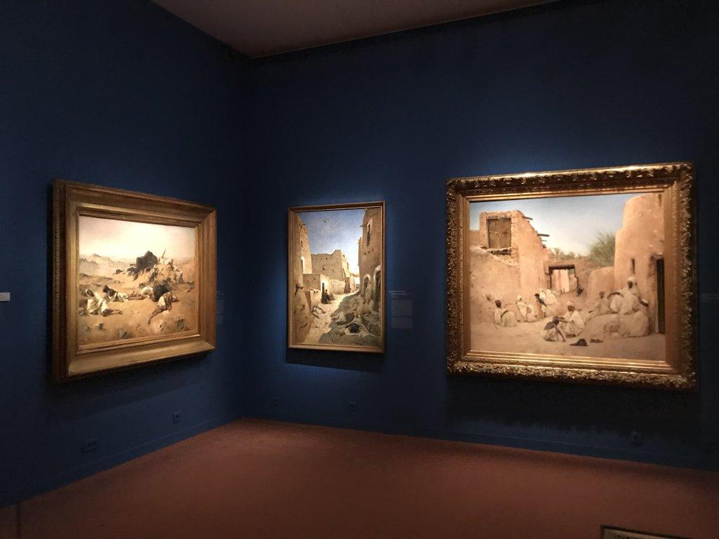 Vue de l'exposition l'Orient des peintres - Musée Marmottan - Paris (5)