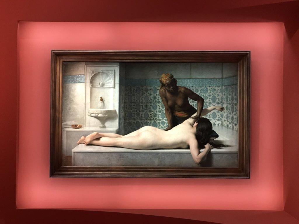 Vue de l'exposition l'Orient des peintres - Musée Marmottan - Paris (6)
