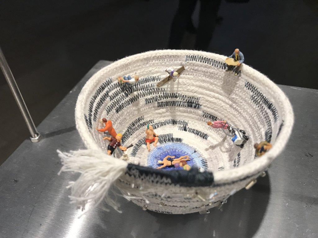Vue de l'exposition Miniartextil 2019 Le Beffroi, Montrouge (20)