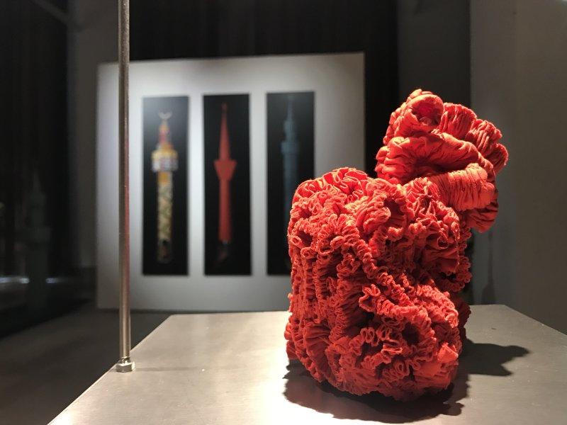 Vue de l'exposition Miniartextil 2019 Le Beffroi, Montrouge (23)