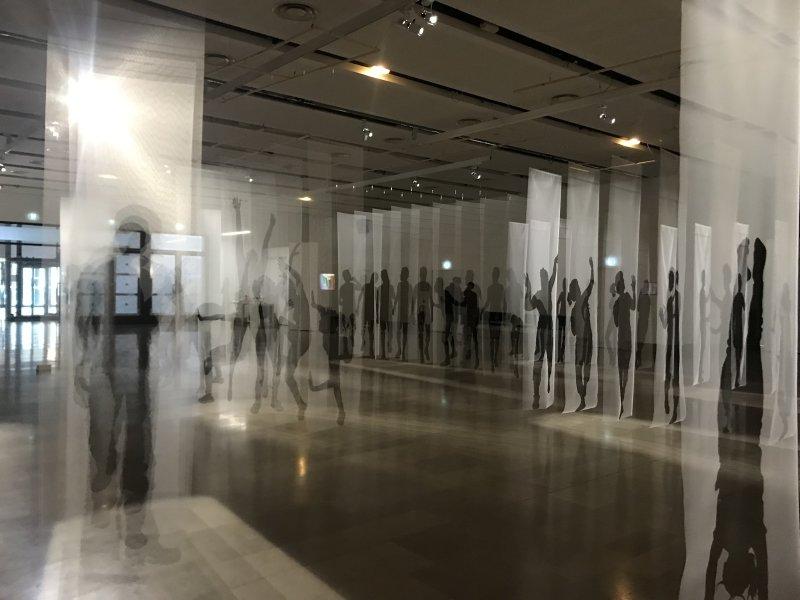 Vue de l'exposition Miniartextil 2019 Le Beffroi, Montrouge (24)