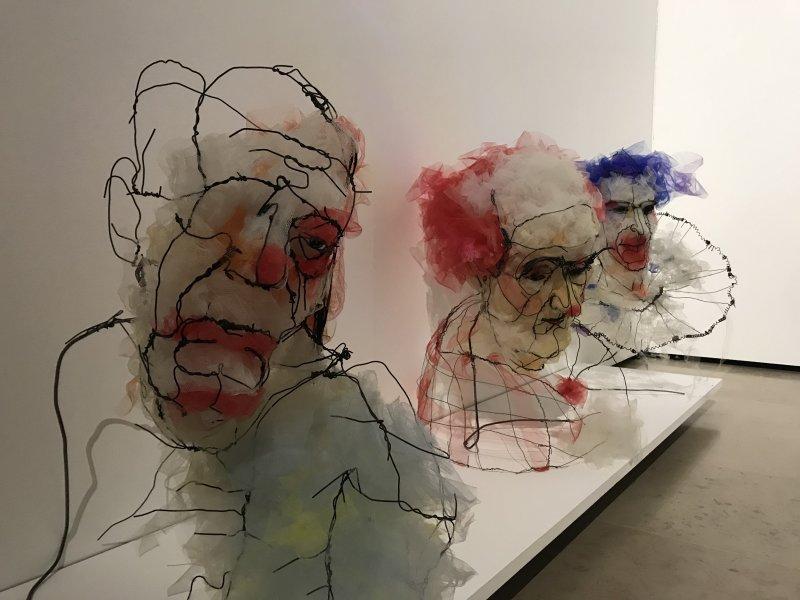 Vue de l'exposition Miniartextil 2019 Le Beffroi, Montrouge (29)