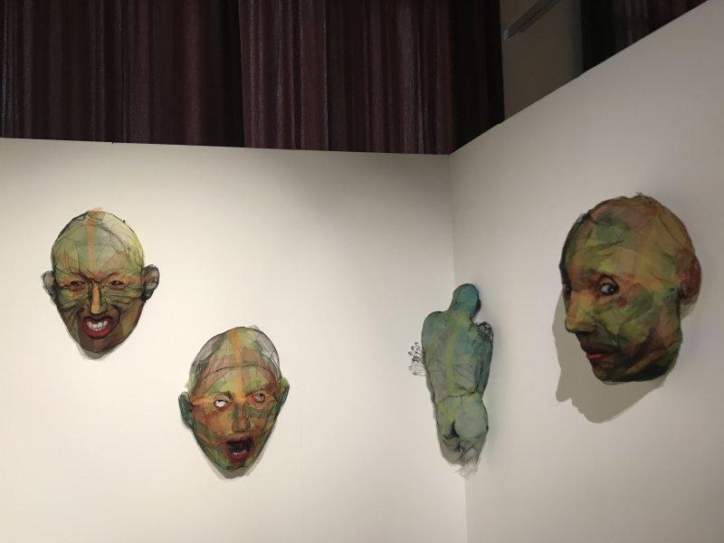 Vue de l'exposition Miniartextil 2019 Le Beffroi, Montrouge (31)