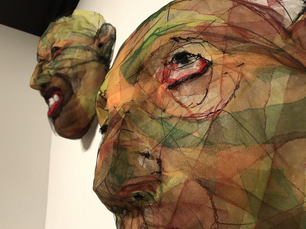 Vue de l'exposition Miniartextil 2019 Le Beffroi, Montrouge (33)