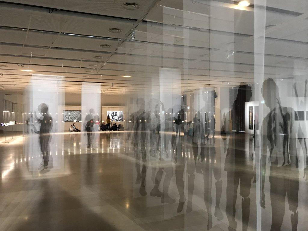 Vue de l'exposition Miniartextil 2019 Le Beffroi, Montrouge (36)