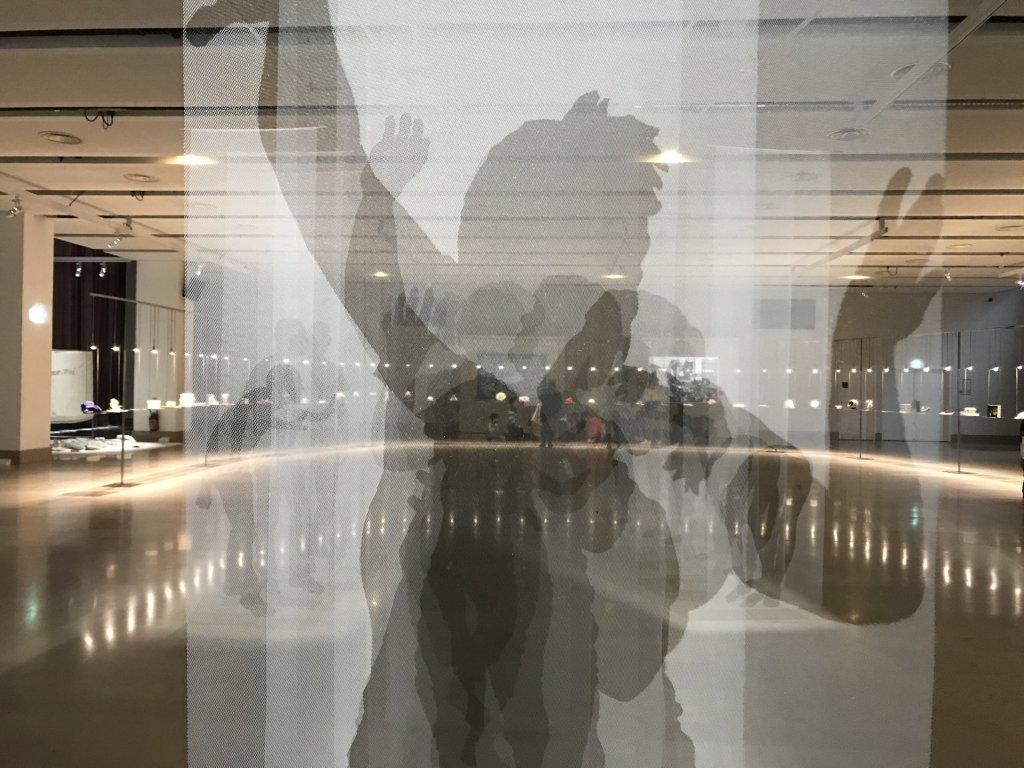 Vue de l'exposition Miniartextil 2019 Le Beffroi, Montrouge (38)