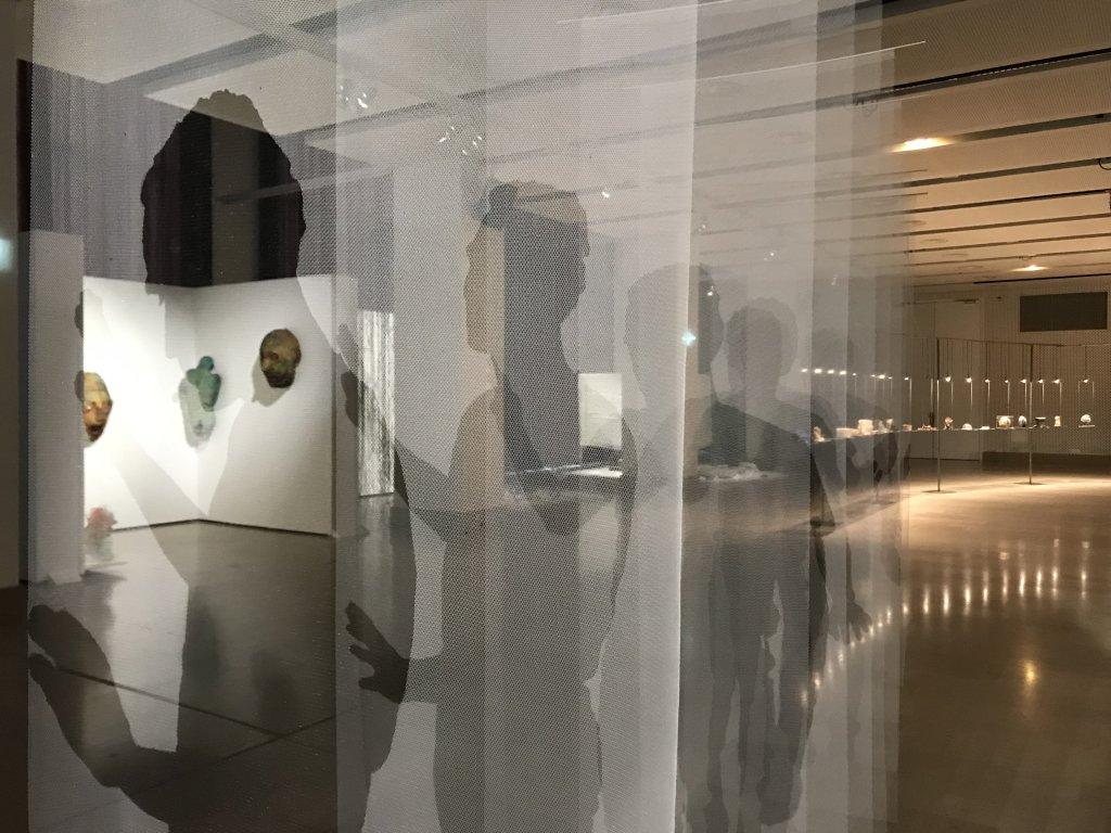 Vue de l'exposition Miniartextil 2019 Le Beffroi, Montrouge (39)
